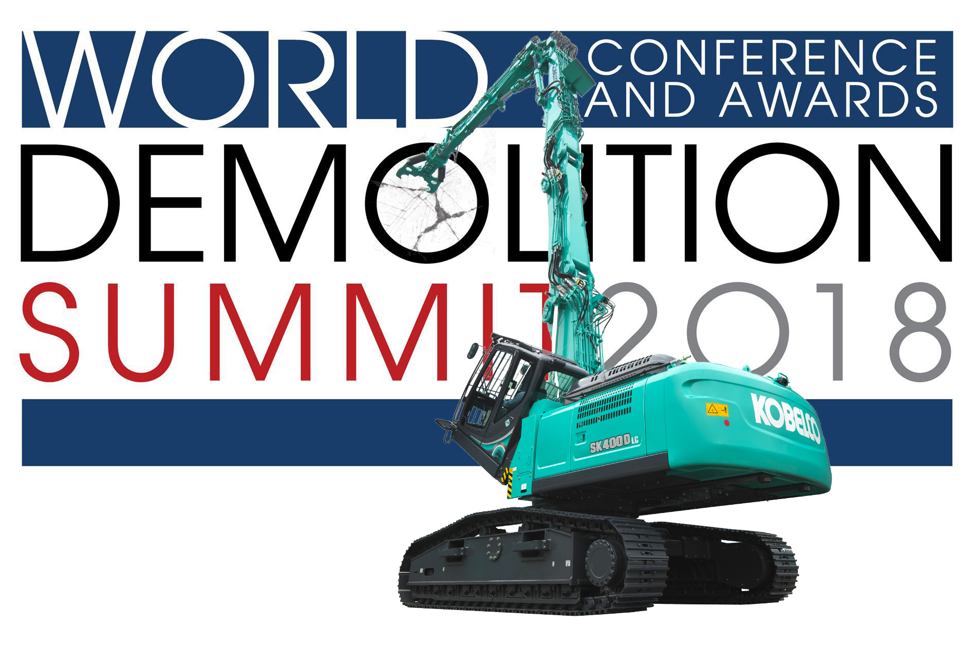 Kobelco attending World Demolition Summit as a Bronze Sponsor for the second time